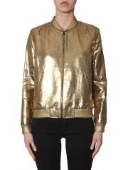 SAINT LAURENT - BOMBER VARSITY