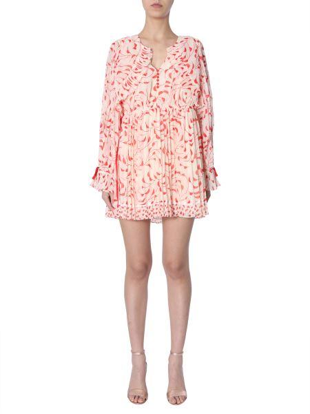 Self-portrait - Chiffon Short Dress