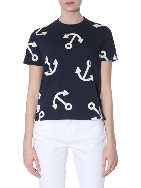 Thom Browne - Relaxed Fit Cotton Jersey T-shirt With Still Print