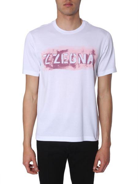 Z Zegna - Crewneck Cotton T-shirt