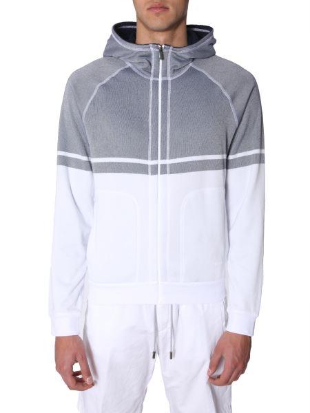 Z Zegna - Reversible Cotton Sponge Hooded Sweatshirt