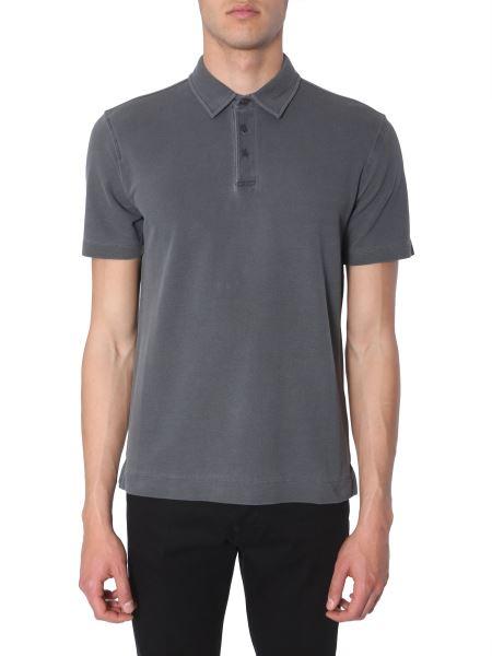 Z Zegna - Cotton-pique' Slim Fit Polo Shirt