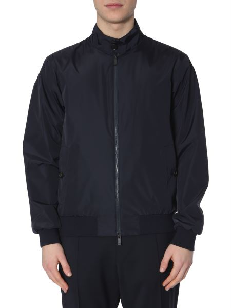 Z Zegna - Bomber In Light Technical Fabric With Zip