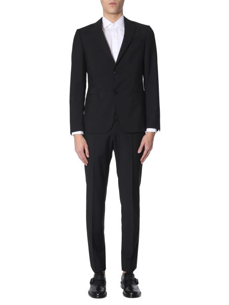 Z Zegna - Complete Slim Fit Two-piece Suit In Fresh Wool