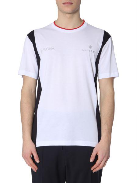 Z Zegna - Round Neck Cotton T-shirt