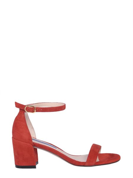 Stuart Weitzman - Simple Suede Leather Sandals