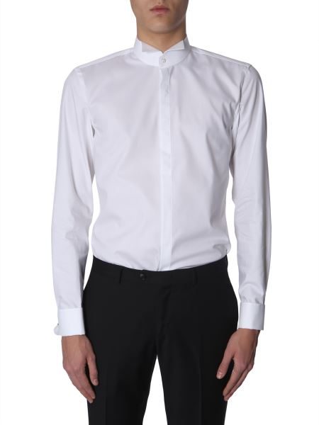 "Boss - Slim Fit Cotton ""jillik"" Smoking Shirt"