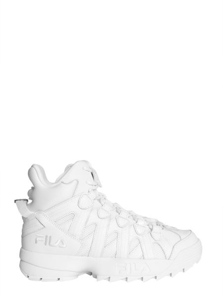 Fila - D-stack Cage Crossover Leather Sneakers