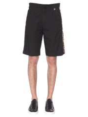 VERSACE COLLECTION - SHORT CON BANDA LAMINATA LOGO