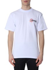 GCDS - T-SHIRT CON STAMPA MAP
