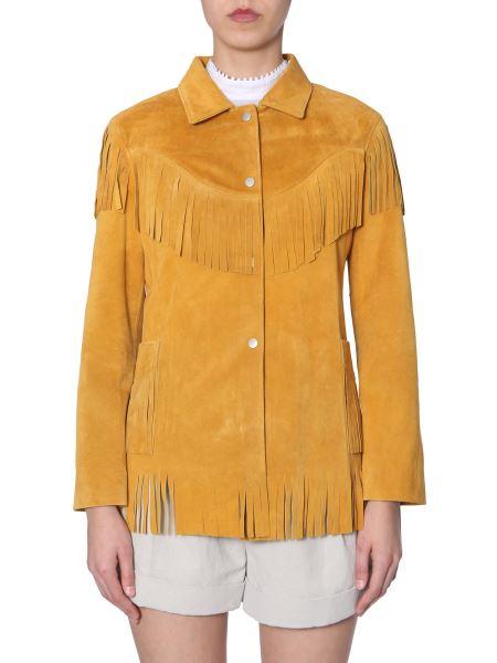 """Isabel Marant - """"abel"""" Jacket With Fringes"""