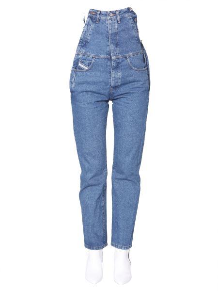 Diesel Red Tag - Denim Stonewash Vintage Jeans In Collab With Glenn Martens
