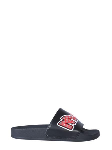 Mcq Alexander Mcqueen - Chrissie Rubber Sandals With Studded Logo