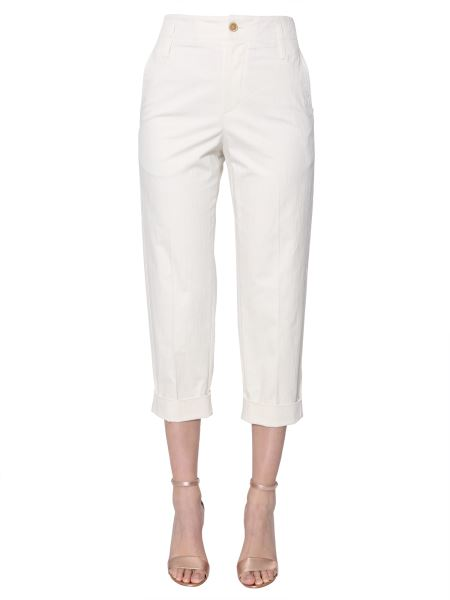Brunello Cucinelli - Cropped Cotton Pants With Cuffs