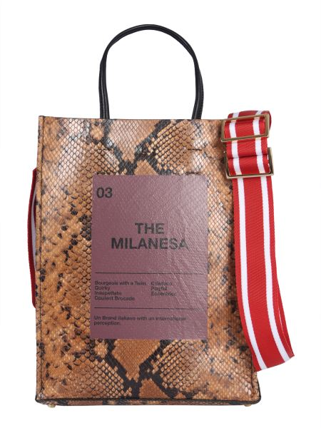 """N°21 - """"the Milanesa"""" Leather Shopping Bag"""