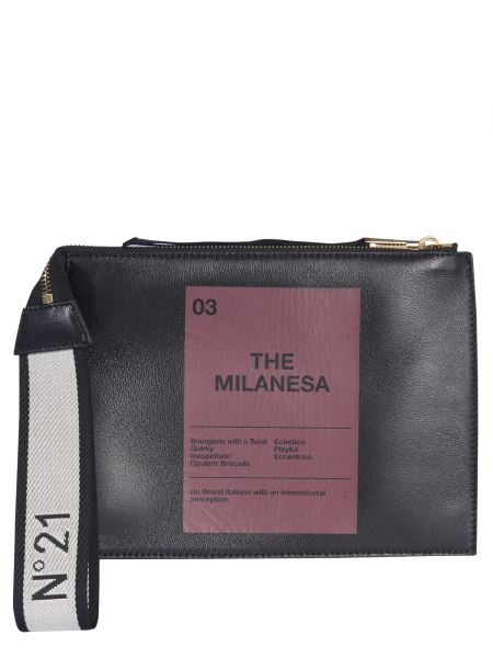 "N°21 - ""the Milanesa"" Leather Pouch"