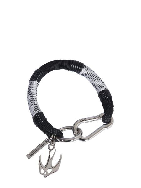 Mcq Alexander Mcqueen - Swallow Friendship Leather Bracelet