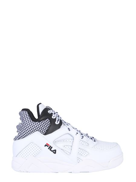 Fila - Cage Cb Mid Synthetic Leather Sneakers