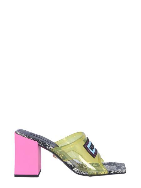 Versace - 90s Vintage Medium Heel Sandals