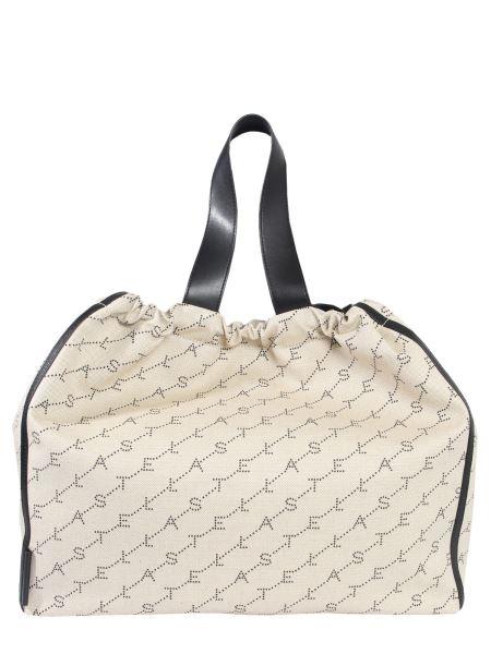 Stella Mccartney - Monogram Tote Bag In Cotton Blend