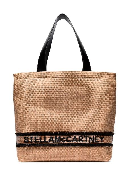 Stella Mccartney - Braided Tote Bag With Logo