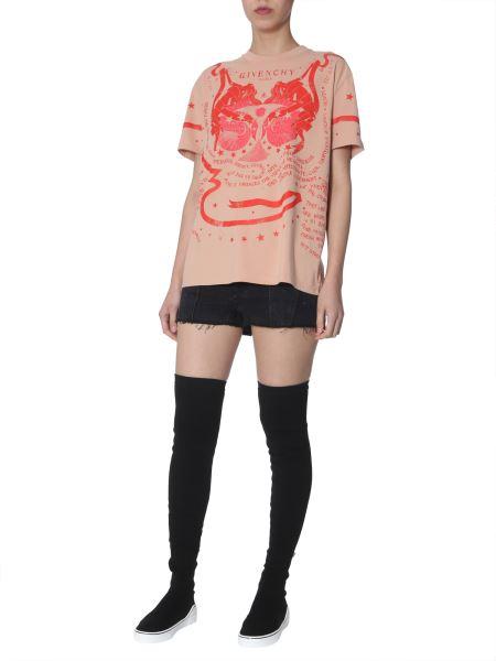Givenchy - Oversized Gemini-print Cotton T-shirt