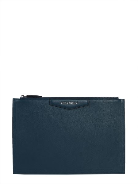 Givenchy - Large Antigona Leather Pouch