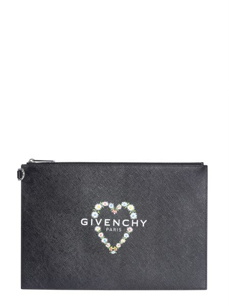Givenchy - Printed Leather Pouch