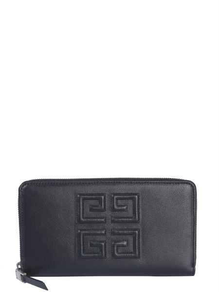 Givenchy - 4g Long Leather Wallet