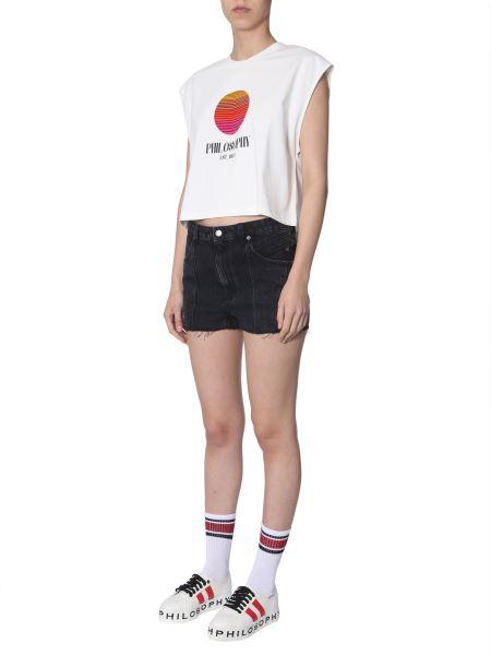 Philosophy Di Lorenzo Serafini - Logo-print Sleeveless T-shirt
