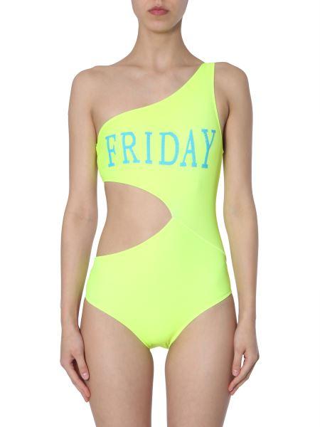 "Alberta Ferretti - ""friday"" One-shoulder Swimsuit"
