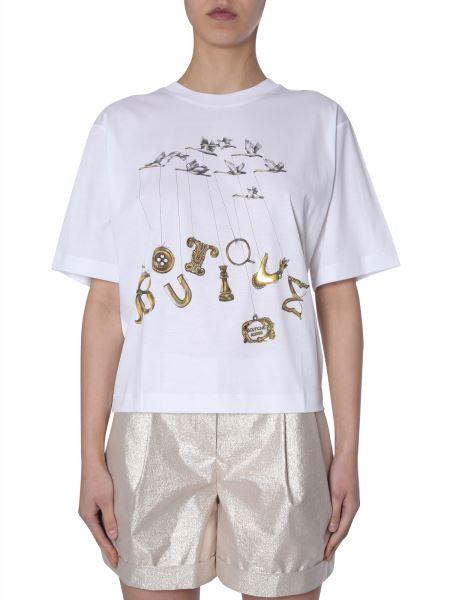 Boutique Moschino - Logo-print Cotton T-shirt