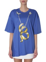 BOUTIQUE MOSCHINO - T-SHIRT CON STAMPA