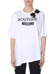 BOUTIQUE MOSCHINO - T-SHIRT OVERSIZE FIT
