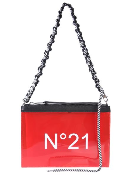 N°21 - Pvc Clutch With Logo