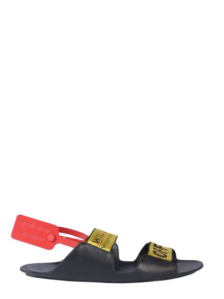 Off-white - Salndalo Zip Tie In Pelle