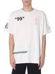 OFF-WHITE - T-SHIRT OVERSIZE FIT