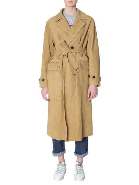 """Golden Goose Deluxe Brand - """"elle"""" Suede Coat"""