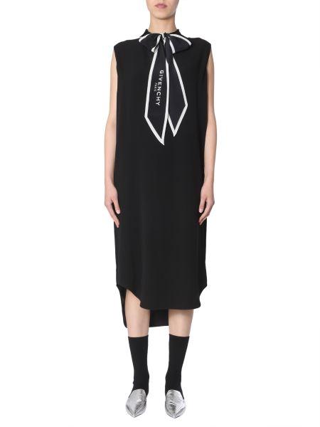 Givenchy - Chemisier Con Foulard Logato