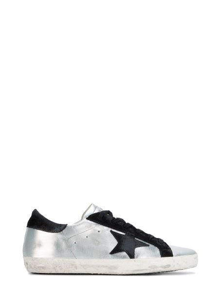 Golden Goose Deluxe Brand - Superstar Laminated Leather Sneakers