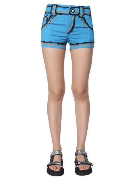 Moschino - Short In Cotone Stretch