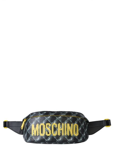 Moschino - Logo Leather Pouch