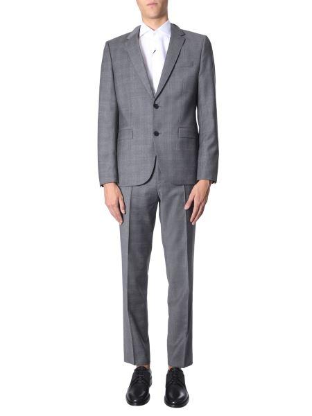 Hugo - Slim Fit Suit With Elasticized Wool Pants