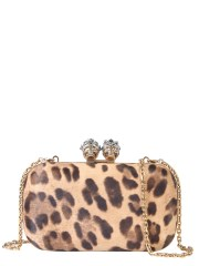 ALEXANDER McQUEEN - CLUTCH QUEEN AND KING SKULL