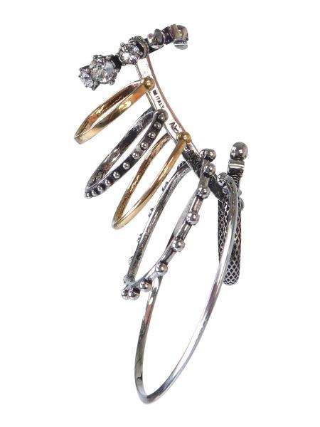 Alexander Mcqueen - Earring With Metal Rims