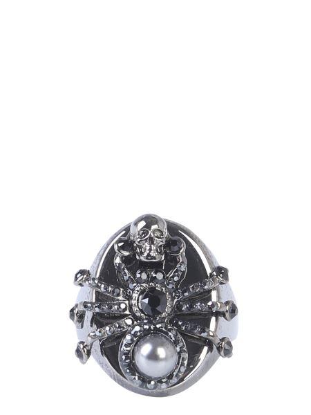 Alexander Mcqueen - Swarovski Spider Brass Ring