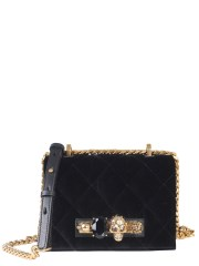 ALEXANDER McQUEEN - BORSA PICCOLA JEWELLED SATCHEL