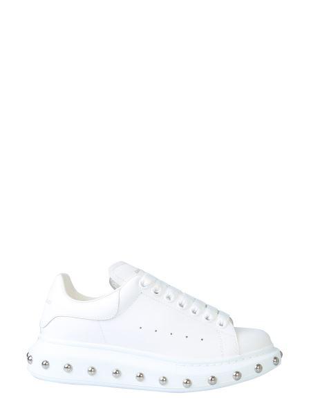 Alexander Mcqueen - Sneaker Oversize In Pelle