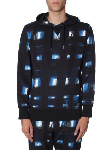 Alexander Mcqueen - Printed Hooded Cotton Sweatshirt