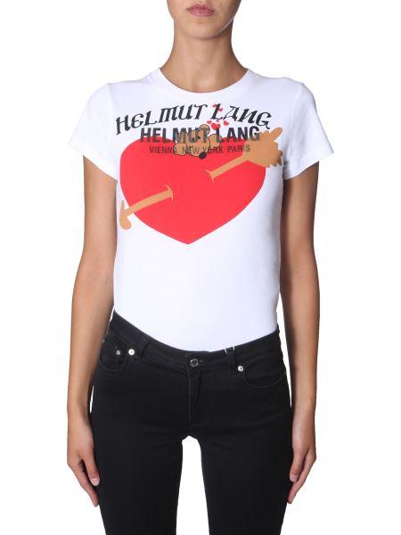 Helmut Lang - T-shirt Girocollo